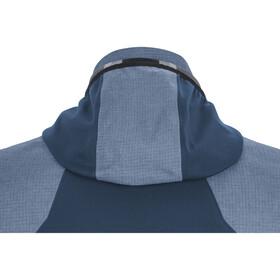 GORE WEAR C5 Gore-Tex Infinium Hybrydowa kurtka z kapturem Mężczyźni, niebieski